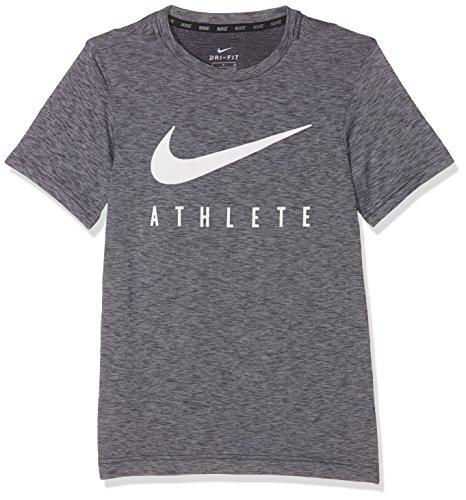 Nike B NK Dry Top SS Hyper Gfx T-shirt für negro (black)