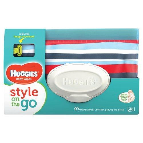 HUGGIES Lingettes Bébé Style Pochette x40