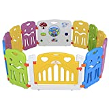 Sungle® Plastic Baby Playpen Activity Panel Electronic Lights & Sounds Play Yar