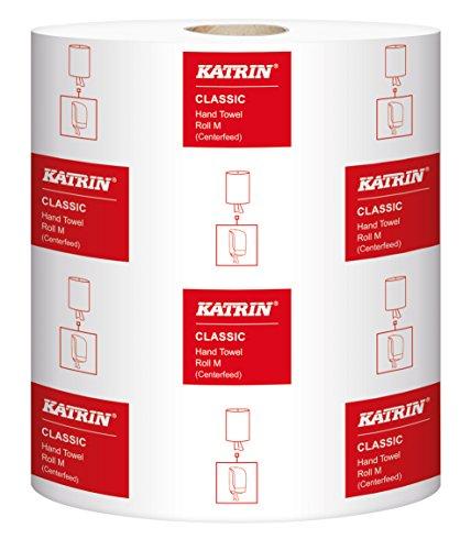Katrin 481911 Classic M2 Handtücher, 2-lagig, Weiß (6-er Pack)