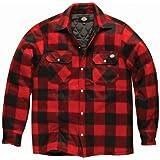 Dickies - Camisa/Chaqueta de leñador de manga larga acolchada Modelo Portland - Invierno/Frio/Montaña