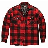 Dickies Herren Hemd Portland Lumberjack, Langarm, kariert (2XL) (Rot)