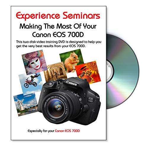 Making The Most Of Your Canon EOS 700D Camera Training DVD Canon Dvd