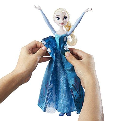 Disney Frozen - Muñeca transformación Real de Elsa (Hasbro B9203EU4)