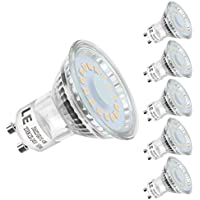 LED MR16 GU10 Bulbs,220-240V, Warmweiß, 5er Pack