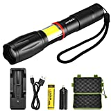 Best Flashlight 1000 Lumens - LED Tactical Flashlight Torch, Vockvic CREE T6 1000 Review