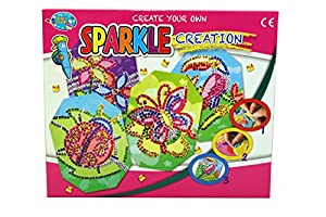 A to Z 37568Crear su Propio Sparkle Mosaic Craft Set