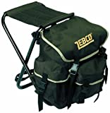 Zebco Anglerstuhl mit Rucksack, mehrfarbig, 9850020