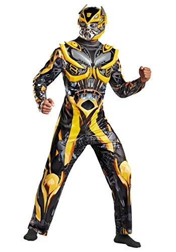 Kostüm Transformer Junge (Disguise Jungen Erwachsene Transformers 4Deluxe Bumblebee)