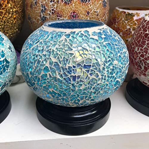 Auge Weihrauch (Vietnam Aromatherapie ätherisches Öl Lampe Mosaik Weihrauch Brenner Südostasien Handwerk Geschenk nach Hause Nachtlicht)