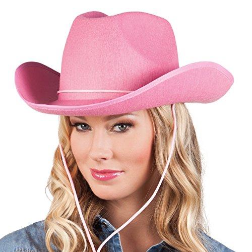 hsenenhut Cowboy, Einheitsgröße, rosa ()