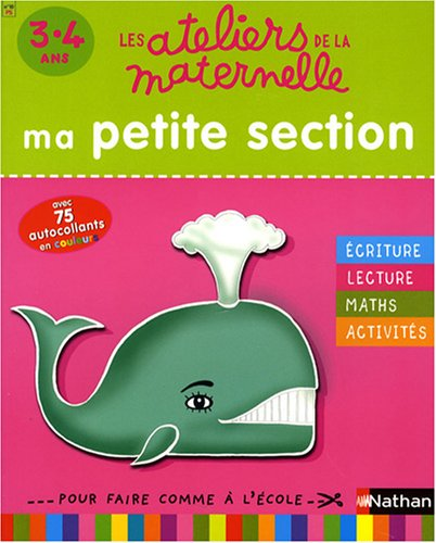 ATELIERS MATERNELLE PS