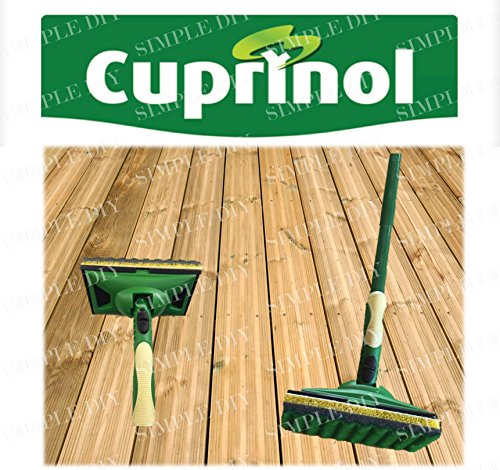 cuprinol-decking-applicator-paint-pad-set-long-handled-shed-fence-timber-kit-new