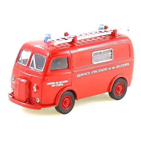 Auto miniature Peugeot D4a pompiers du cantal 1/43 par verem