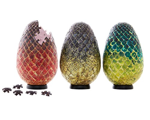 Preisvergleich Produktbild Game of Thrones Dragon Egg Puzzles Set