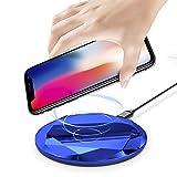 Foluu Chargeur sans Fil 10W Rapide sans Fil de Charge pour Samsung Galaxy S6/S7/S8/S9...