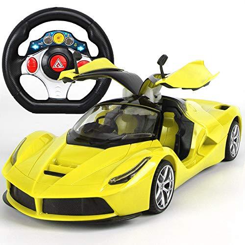 MEILA Stunt High Speed   Remote Drift Rennwagen Elektro Fast Race Buggy Sehr großes ferngesteuertes Auto kann die Tür öffnen Lenkrad Aufladen ferngesteuertes Rennauto