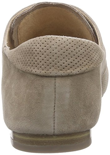 Caprice  23200, Derby femme Marron (taupe Suede 343)