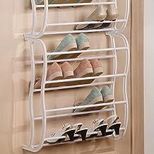 f81fddeae0309 Vinteky Support de rangement étagère à chaussures pour Organisateur à  Suspendre sur Porte Stockage Range