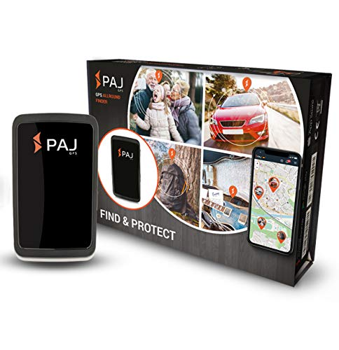 PAJ GPS Allround Finder GPS Tracker 20 Tage Akku Finder Live-Ortung Peilsender für Objekte, KFZ, Personen, Tiere mit App (ONLINE-Ortung)