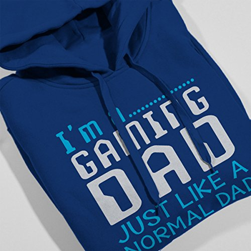 Gaming Dad Women's Hooded Sweatshirt Royal Blue