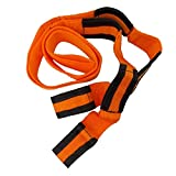 JJOnlineStore – 0,6 x 2,4 m Orange déménagement Sangle de ceinture meubles Home Appliances Transport sécurisé en mouvement Ceinture Mover levage Sangles de support