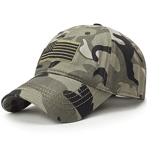 SKAMAO Baseball Kappe Baseballkappe Männer Camouflage Cap Taktische Trucker Caps Männer Navy Seal Flag Camo Baseball Caps Hysterese USA-Markentarn -