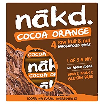 Nakd Cocoa Orange MP 4X35 g