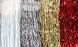 Lametta Weihnachtsschmuck Christbaum Weihnachten Tannenbaum 50 x 40 cm gross GOLD (4)