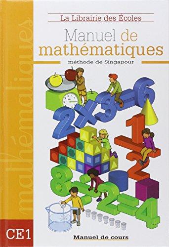 Manuel de mathmatiques CE1