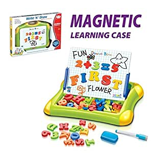 Second Classroom 2 In 1 Easy To Carry Magnetic Learning Case Drawing Board