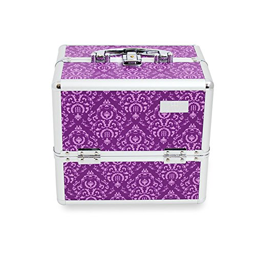 Beauty Box, Togo Imperial Purple Cosmetics Fall, Professional Beauty Tools Aufbewahrung Halter