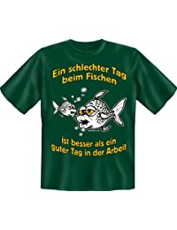 Intelligent Cooles Angel Fun T-shirt Bester Fang Bedruckt Angeln Fischen Fishing Shirts & Hemden