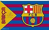#8: F.C. Barcelona Flag BW