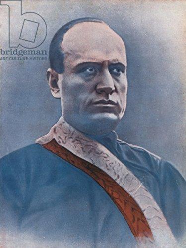 """Poster-Bild 40 x 50 cm: """"Il Duce"""", Bild auf Poster"""