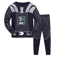 Qtake Fashion Boys Pajamas Children Clothes Set 100% Cotton Little Kids Pjs Sleepwear (3-4 Years, Pajamas3)