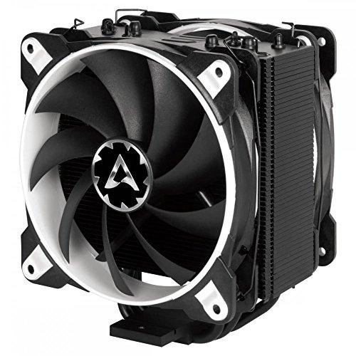 ARCTIC Freezer 33 eSports Edition - Tower CPU-Kühler mit Push-Pull-Konfiguration I 120 mm PWM Prozessorlüfter für Intel und AMD | PWM-Sharing-Technologie (PST) 200 bis 1800 U/min (WEISS) (Lga-2011-kühler)