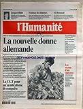 HUMANITE [No 16822] du 15/09/1998 - FOOT - URI SAVIR - PALESTINE - ANDRE FOUGERON - PEINTRE - L'ALBANIE - VIOLENCE - BILL CLINTON EN APPELLE AUX SONDAGES - APRES LA PUBLICATION DU RAPPORT STARR - LES 3 JOURS DE LA COURNEUVE.