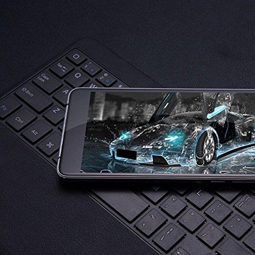 """Smartphone de 5.7"""" ,LEAGOO M8 Pro Teléfonos Móviles Libres 4G Android 6.0(8MP Cámara Frontal,13MP+5MP Dos Cámaras Traseras,2GB RAM+16GB ROM,1280*720 Resolución,Dual Sim,MTK6737 Quad Core 1.3GHz,Batería 3500mA,Identificación de Huella Digital) - Gris"""