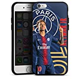 DeinDesign Coque en Silicone Compatible avec Apple iPhone 6 Étui Silicone Coque Souple Paris Saint-Germain Produit sous Licence Officielle PSG Neymar Jr