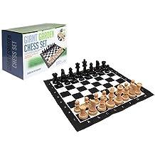 Set di scacchi giganti per giardini in scatola Prtd