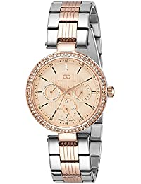 Gio Collection Analog Rose Gold Dial Women's Watch-G2024-33