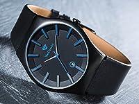 Yves Camani Loann - Reloj para hombre, color negro de Yves Camani