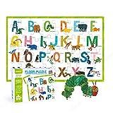 48 stuk dieren A tot Z vloer puzzels Set, leuke geïllustreerde puzzel met foto's van dieren, voorschoolse educatieve puzzels activiteit speelgoed cadeau voor jongens meisjes