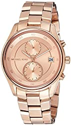Michael Kors Analog Rose Gold Dial Womens Watch-MK6465