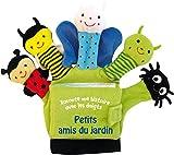 Petits amis du jardin - Le livre-gant