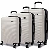 Best Luggage Sets - Kono Luggage Suitcase Hard Shell 4 Wheel Spinner Review