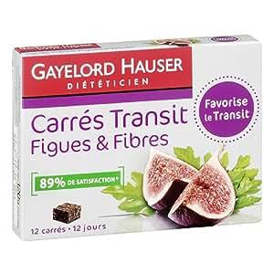 GAYELORD HAUSER Carrés transit figues et fibres - Ventre plat