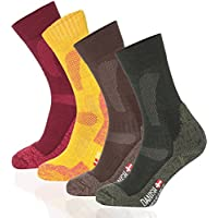 merino wool hiking & trekking socks by danish endurance for men and women, soft warm socks for winter & christmas, performance thermal socks for outdoor enthusiasts, crew socks for outdoor activities