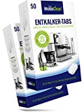 WoldoClean I 100x Descaling Tablets I Descaler For Coffee and Espresso Machine I All Purpose I Limescale Remover I Descale I Decalcifier I Each Tablet 16g